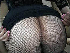 Big Ass Latina Fucked With Her Pantyhose On