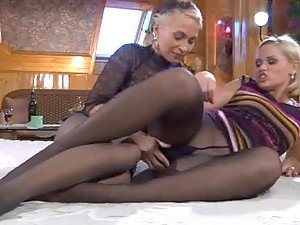 Raunchy Pantyhose Action