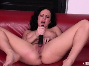 Katie St. Ives gets eaten out after she's pounding her pussy
