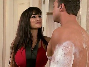 Even If Lisa Ann Is a Lifeguard She Will Always Be a Horny Cougar