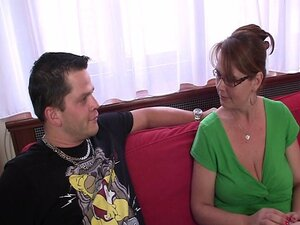 Anal loving mom jumps on cock