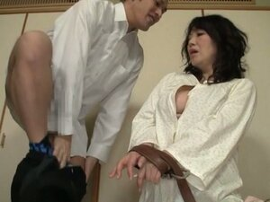 Mature Japanese Lady Gets Tied and Fucked by Her Husband