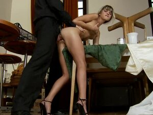 Doris Ivy fingers her asshole and gets it fucked every which way