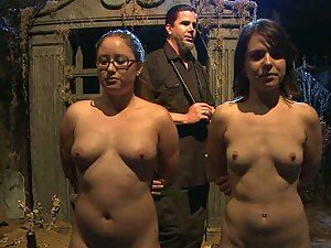 Two Sexy Chicks Are Tied Up And Punished