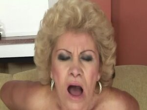 Blonde mature busty GILF fucked roughly