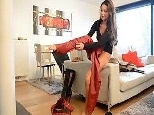Boots and Leatherjeans Girl