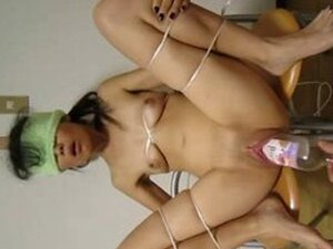 Japanese Girl - Double Fisting And Bottle