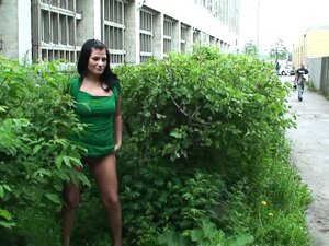 Teasing among the bushes