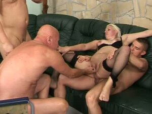A Very Odd Drunken Orgy With A Couple And Old Men