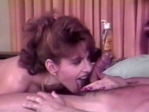 Vintage fucking with hot blowjob and hairy pussy drilling