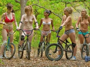 Nudes On Bicycles