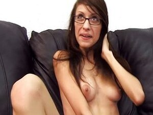 Nerd Vivian in glasses assfucked