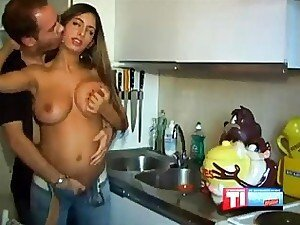 Huge Arabic Chick Reamed
