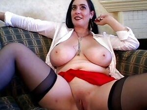 Beautiful Busty Mature Gangbang