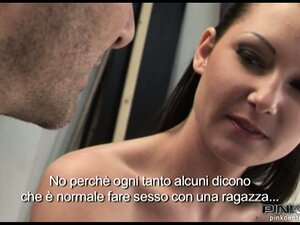Seductive brunette with a fabulous ass sucks and fucks a big cock with pure desire