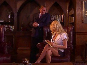 Big Breasted Blonde Katie Morgan Fucking Her Boss In The Office