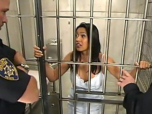 Asian Locked Up & Treated Like The Slutty Animal She Is