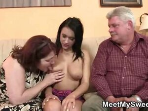 She loves old man cock in her box