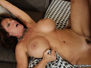He fucks Deauxma's wet pussy then lays back so she can ride him