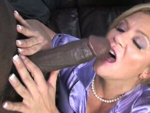 Ginger lynn get hard fucked by two big black dicks infront of her son