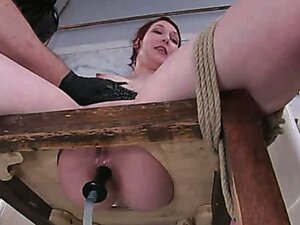 Anal Antics... Carmen Takes a LOT of water for her Enema Audition