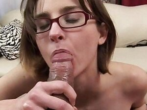 Jay Taylor takes direction as she sucks cock