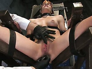 Anal Audition: Hot firey redhead doused with a gallon enema!