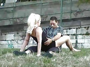 Public sex somewhere in Europe