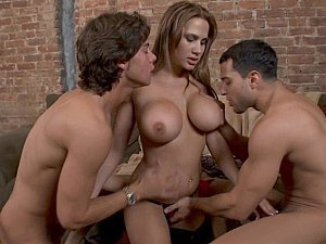 Naughty rich Alanah takes two