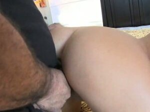 Sweet young babe fucks old bad dick