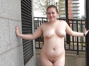 Fat Charlie nude in public and amateur