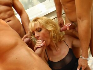 Blonde milf loves hardcore sex