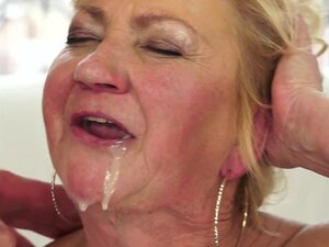 Fat mature Tamara was fucked in her mouth