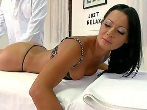 Anal Fingering and Fucking For Euro Slut Sandra Romain After Massage