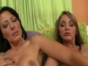 Horny MILF Zoe Holloway is being hospitable to her friend