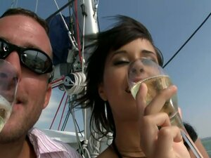 Vacation Fucking On A Boat For Cute Couple