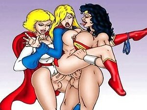 Superman and Supergirl orgies