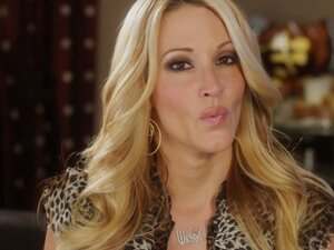 Stunning Jessica Drake delivers her studies about spitting or swallowing the cum