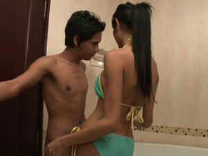 Soapy Thai Ladyboy Massage