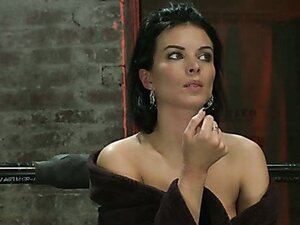 Sexy skinny milf with huge boobs has massive orgasms