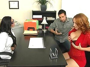 Couple Therapy Turns Into A Threesome With The Babes Rebecca Lane And Dr. Rayne