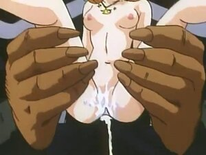 Hentai babe loves animal pussy licking