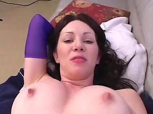 POV Action With The Busty Brunette Rayveness