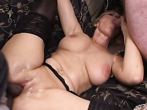 Horny blonde MILF passes casting to erotic movie