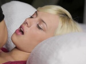 hungry Emma blonde make love with her new lover super hot art movie